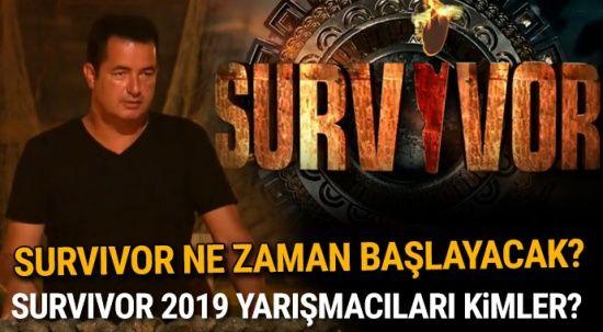 Survivor 2019 Yarışmacıları kimler? Survivor ne zaman başlayacak? 2019 Survivor kadrosu!