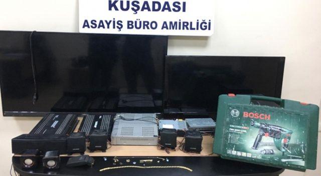 17 hırsızlık olayının 2 faili ve 3 işbirlikçi yakalandı