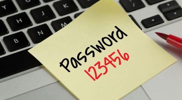 2018 yılının en çok  kullanılan şifreleri