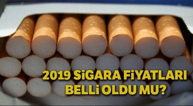2019 Sigara fiyatları zam oranı belli oldu mu? | Son dakika 2019 Sigara fiyatları zammı var mı? Ocak 2019 sigara zamlı liste belli oldu mu?