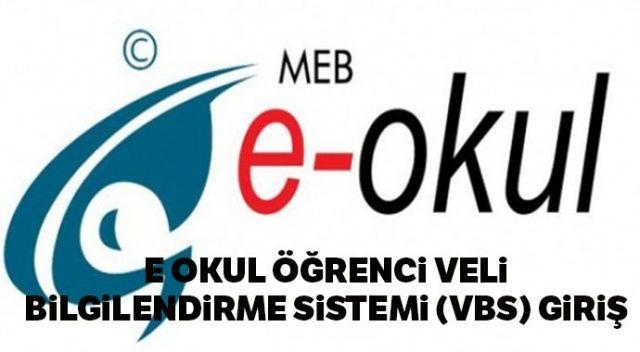 2019 VBS bilgilendirme sistemi | Karne notu hesaplama işlemi | E OKUL veli bilgilendirme sistemi (VBS) giriş karne sınav sonu sorgulama
