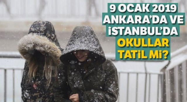 9 Ocak Ankara ve İstanbul'da Okullar Tatil mi? Kar tatili olan iller hangileri? İşte 9 OCAK SALI günü okulların tatil edildiği iller...