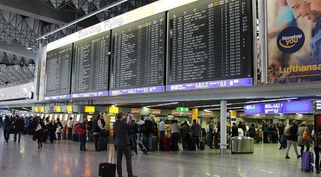 Almanya'da uyarı grevi yapılacak havalimanlarının sayısı 8'e yükseldi