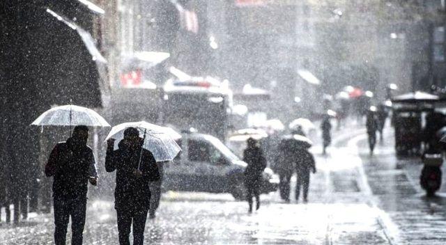 Antalya için şiddetli yağış uyarısı