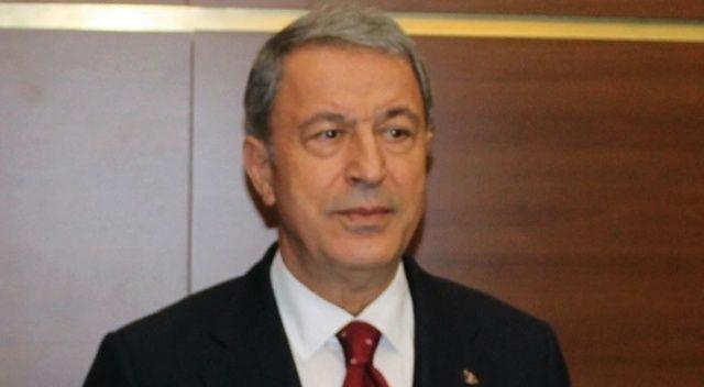 Bakan Akar'dan Fırat'ın doğusu ve Münbiç açıklaması