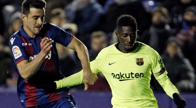 Barcelona Kral Kupası'nda mağlup
