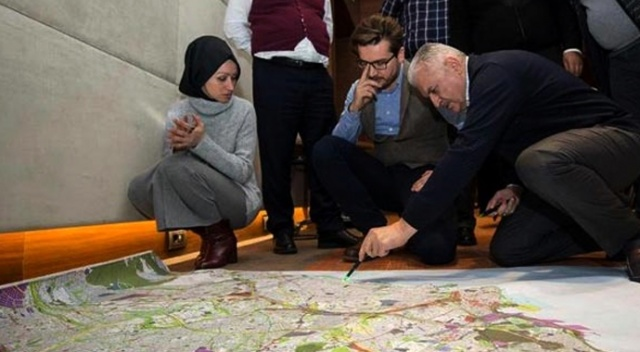 Binali Yıldırım, İstanbul için çalışmalarına start verdi