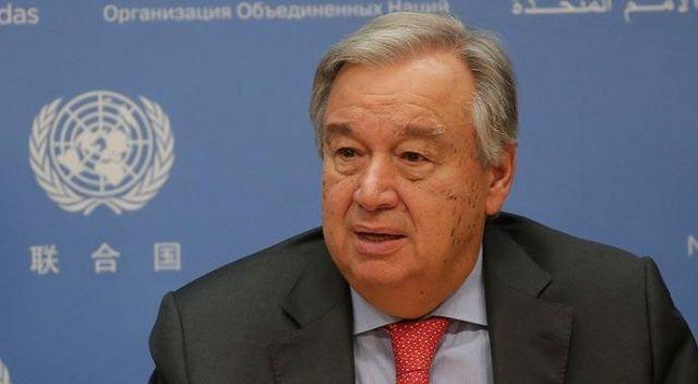BM Genel Sekreteri Guterres: Türkiye'nin meşru güvenlik kaygıları dikkate alınmalı