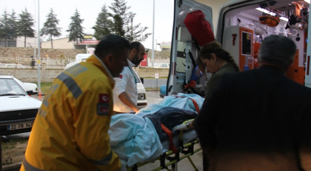 Burdur'da tiner dökülen soba alev aldı: 6 yaralı