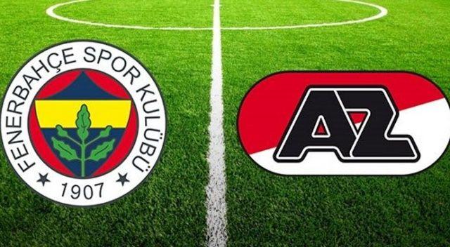 CANLI İZLE: Fenerbahçe AZ Alkmaar maçı ne zaman, saat kaçta, hangi kanalda şifresiz? (Hazırlık maçı)