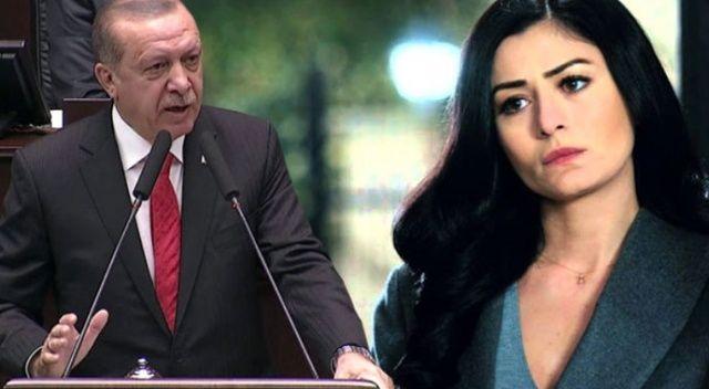 Cumhurbaşkanı Erdoğan'dan Deniz Çakır'a tepki