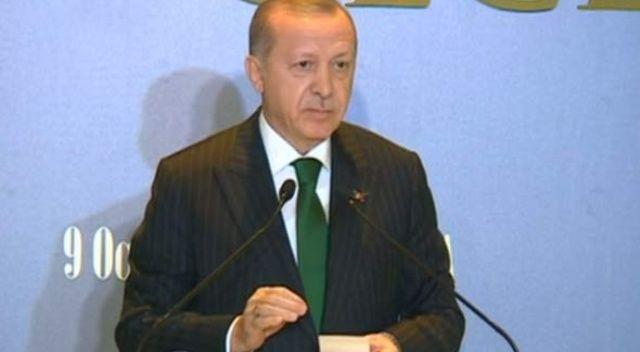 Erdoğan: Dünyanın 13. büyük ekonomisi haline gelmiş durumdayız