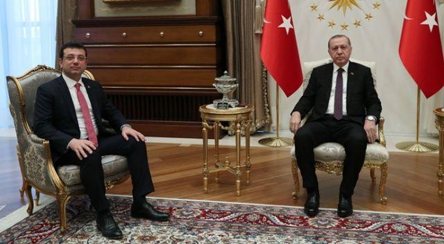 Cumhurbaşkanı Erdoğan,  İmamoğlu görüşmesi sona erdi