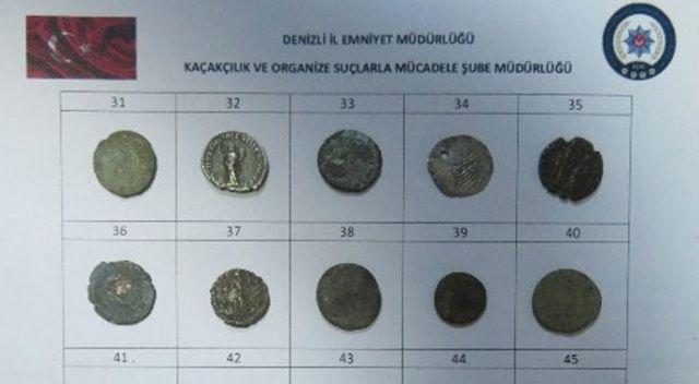 Denizli'de tarihi eser operasyonu: 1 gözaltı