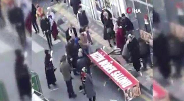 Dev tabela vatandaşların üzerine düştü