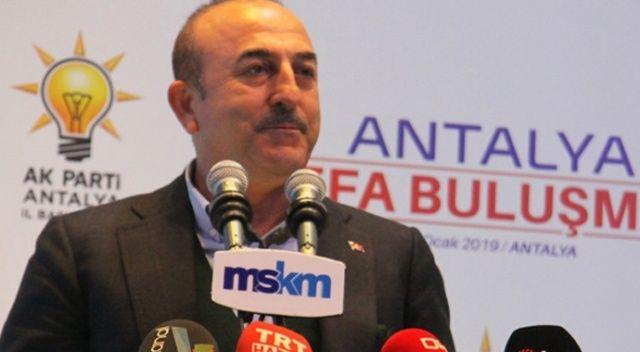 Dışişleri Bakanı Çavuşoğlu: 'Siz geçmişte de Kürtleri kullandınız'