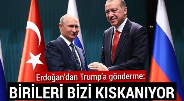 Erdoğan ve Putin 2018'de  25 defa görüştü