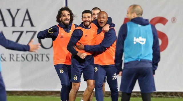 Fenerbahçe günü çift antrenmanla tamamladı