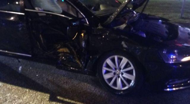 Hatay'da 3 araç birbirine girdi: 5 yaralı