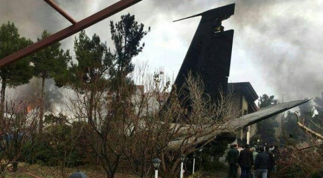 İran'da kargo uçağı düştü: 14 ölü, 1 yaralı