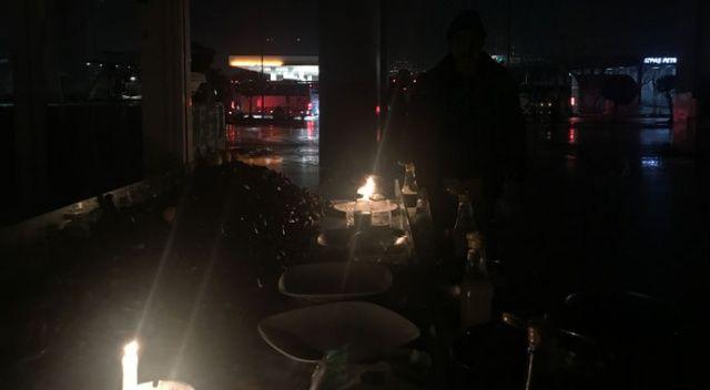 İzmir otogarında elektrikler kesildi