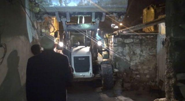 Kahramanmaraş'ta evin balkonu çöktü: 2 yaralı