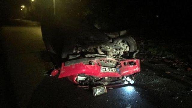 Kaza yapan alkollü sürücü, 'Keşke ölseydim' diyerek ağladı
