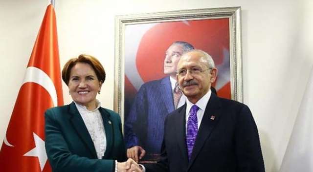 Kılıçdaroğlu ve Akşener ittifakı konuştu
