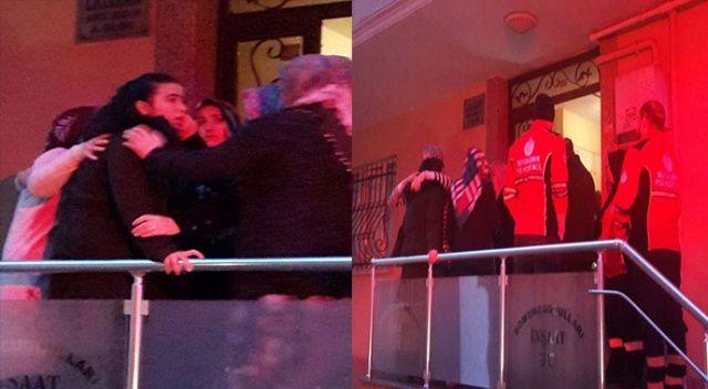 Maltepe'de genç kız düşen asansörde mahsur kaldı