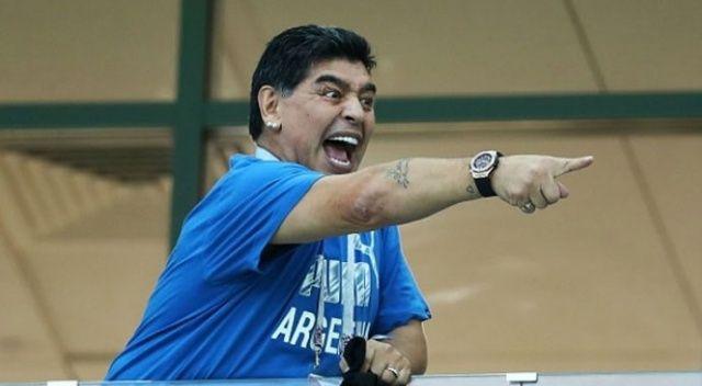 Maradona'ya mide kanaması teşhisi
