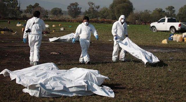 Meksika'daki boru hattı patlamasında ölü sayısı 66'ya yükseldi