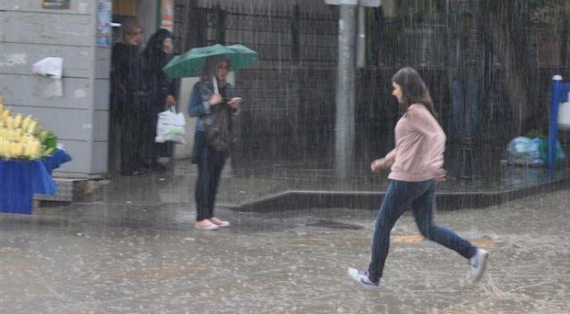 Meteorolojiden 7 il için yağış uyarısı