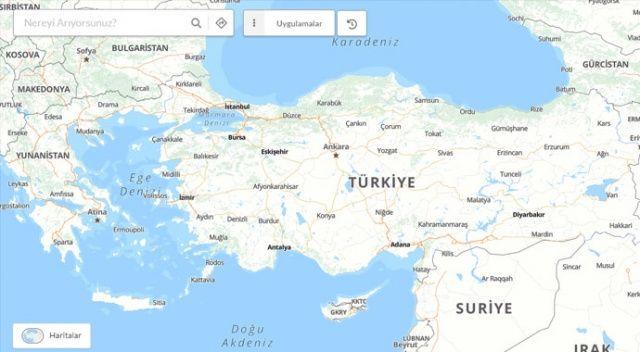 Milli haritamız devrede