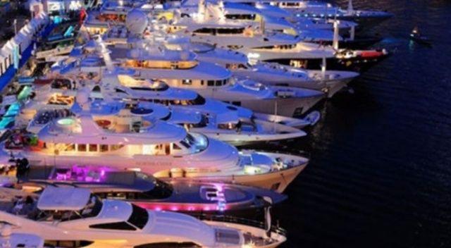 Milyonluk tekneler denize indiriliyor