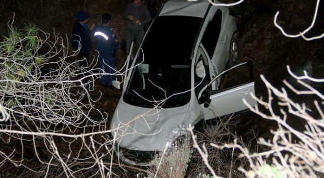 Muğla'da otomobil dereye uçtu: 1 ölü