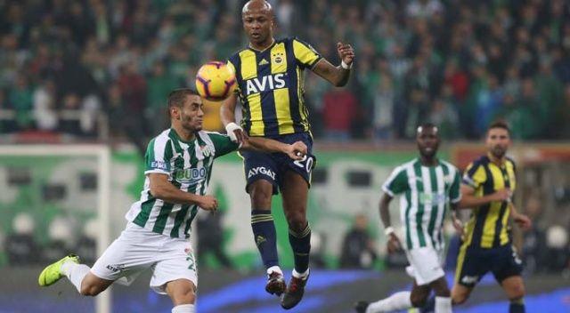 Özet izle: Bursaspor 1-1 Fenerbahçe maç sonucu | Bursa FB maçı kaç kaç sona erdi?