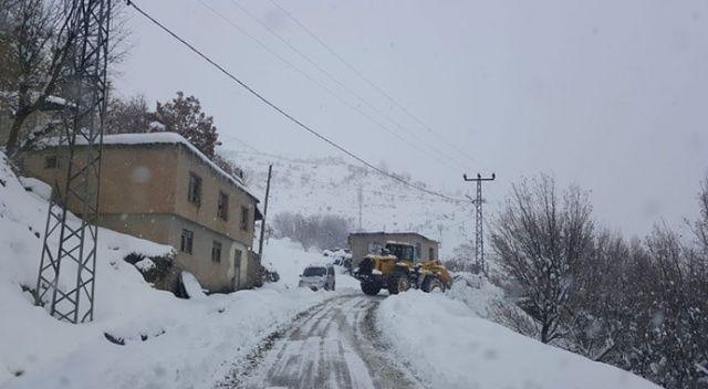 Siirt'te 60 köy yolu ulaşıma kapandı
