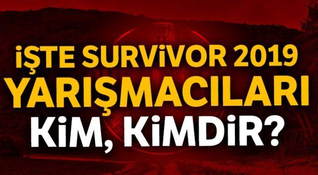 Survivor 2019 yarışmacıları! Survivor Türkiye oyuncular, yarışmacılar   Survivor 2019'da kim var? Survivor tanıtım İZLE