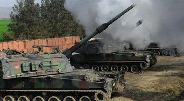 TSK, Tel Rıfat'taki YPG/PKK'lı teröristleri vurdu