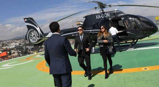 Turizmde 70 milyar dolara helikopterle uçarız
