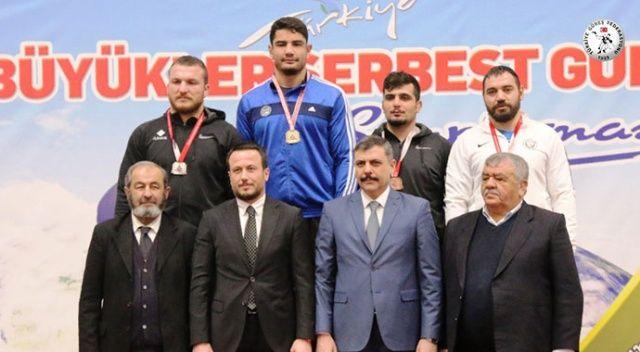 Türkiye Erkekler Serbest Güreş Şampiyonası sona erdi