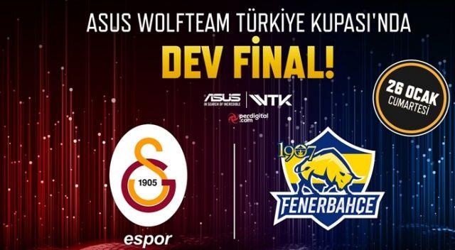 Wolfteam'de Sezon Finali'nin adı: 1907 Fenerbahçe - Galatasaray Espor