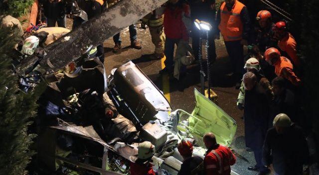 'Askeri helikopter test uçuşu sırasında kaza kırıma uğradı'