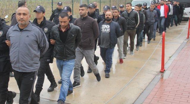 Adana'daki suç örgütü operasyonunda 7 tutuklama