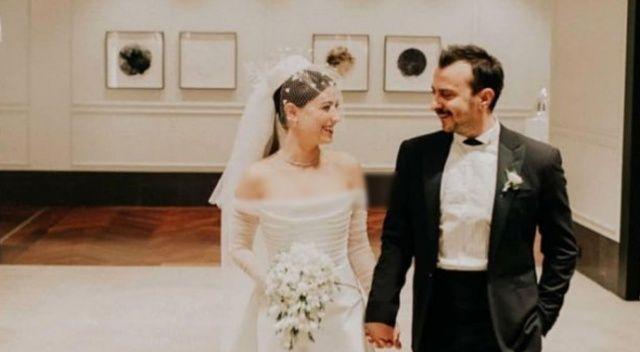 Ali Atay ve Hazal Kaya evlendi