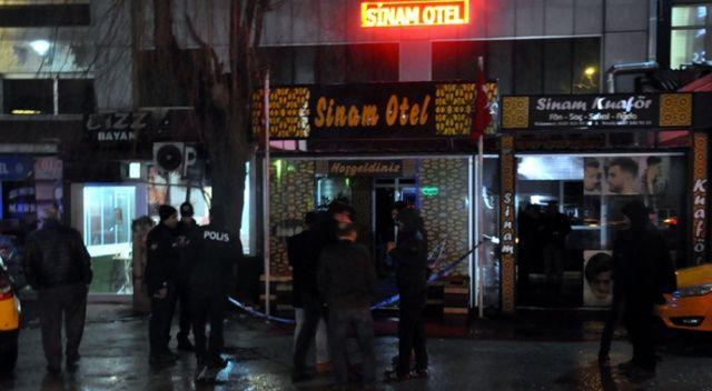 Ankara'da otele pompalı tüfekle  silahlı saldırı