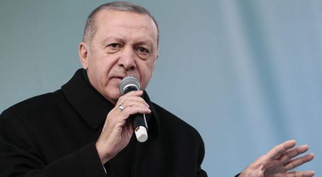 Başkan Erdoğan'dan çok sert çıkış: 'Utanç verici sahnelere şahit oluyoruz'