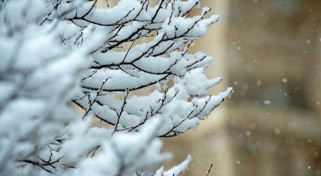Beklenen kar geldi