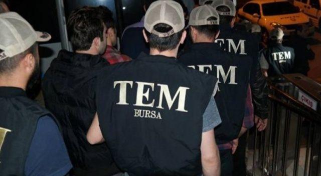Bursa'da FETÖ bağlantılı 27 komiser yardımcısı gözaltına alındı