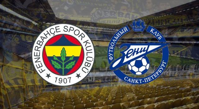 ÖZET İZLE: Fenerbahçe 1 - 0 Zenit Geniş Özeti ve Golleri | FB Zenit maçı kaç kaç bitti?